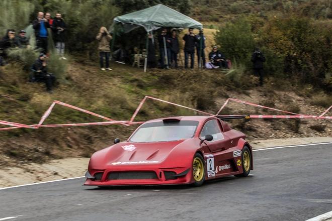 subida el vellon castillo speed car