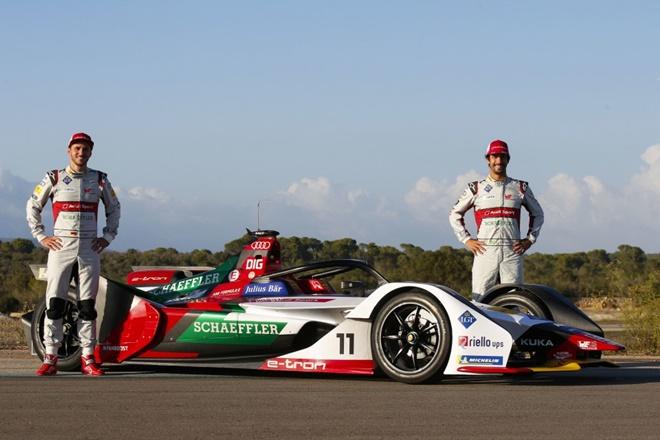 Audi Sport ABT Schaeffler Formula-E 2019