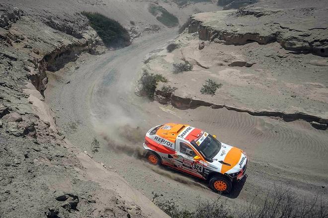 Dakar 19 etapa 8 esteve bv6 1601