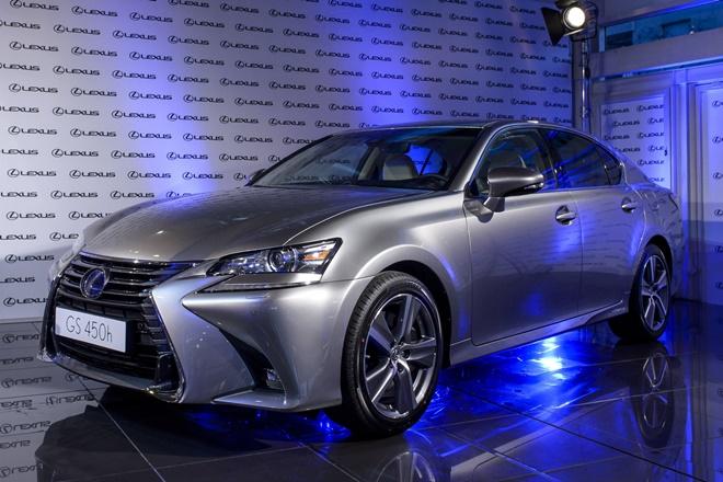 Lexus GS 2016 ficha