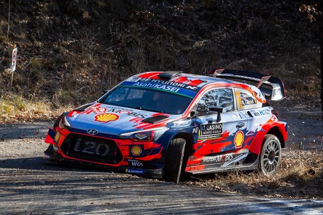WRC Monte carlo neuville i20 WRC 2601