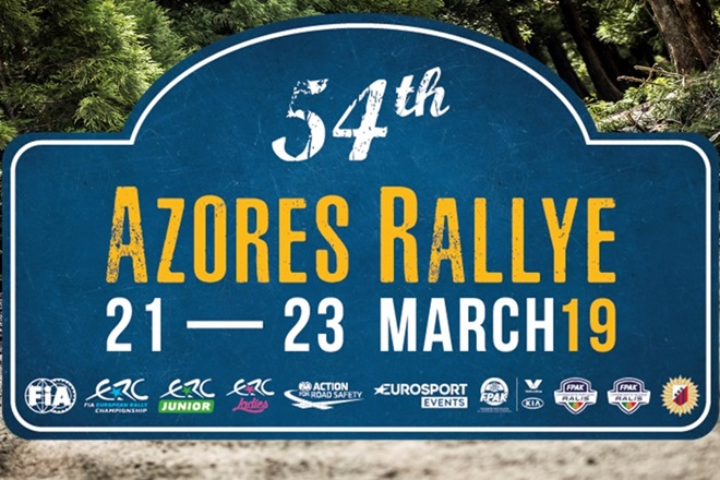 Azores 2019 placa