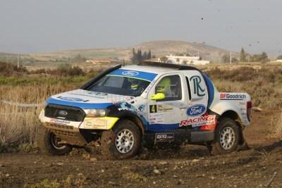 Pita-Herrero con Ford Ranger vencen en la Baja Almanzora con final sorpresivo