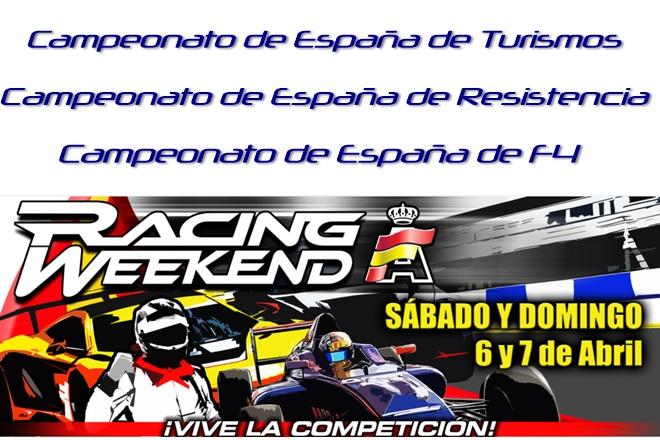 raceweekend 1 2019 navarra cartela