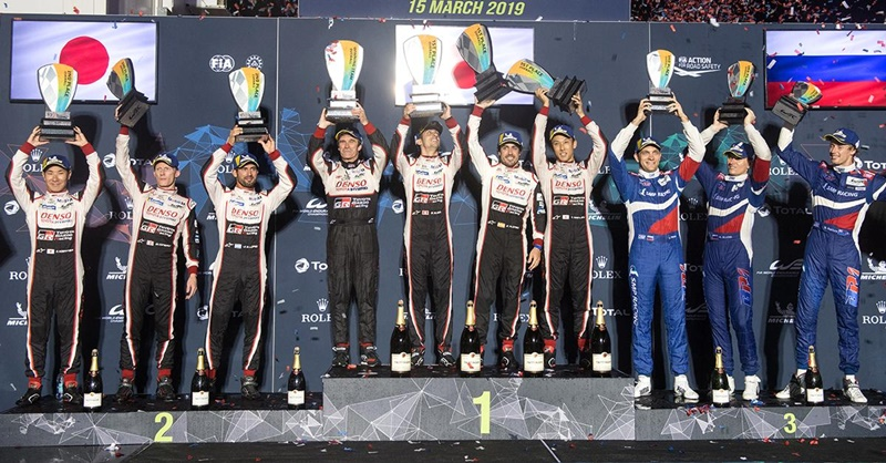 wec sebring 2019 alonso podio
