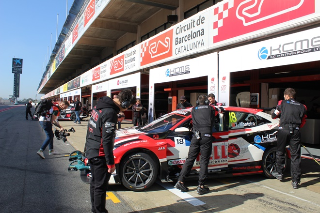 wtcr Test montmelo 2019