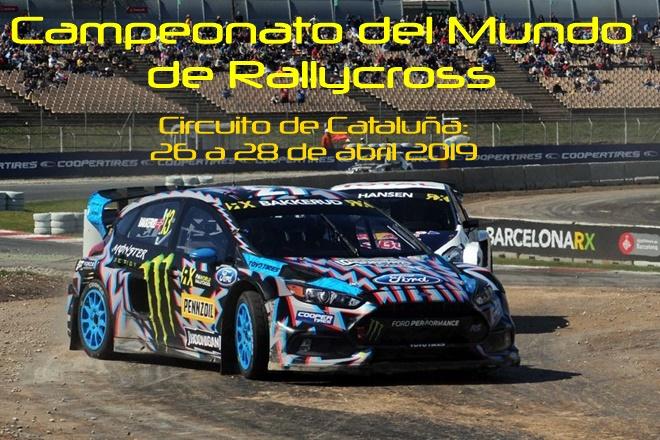 barcelona rallycross cartela 2019