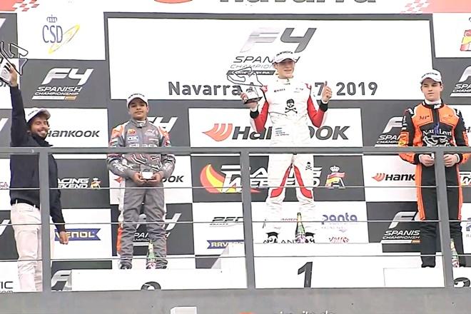 podio f4 navarra drivex 2019
