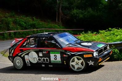 03 Muy aplaudida la cuarta posición de Lucky después del accidente del viernes Rallye de Asturias Histórico 2019