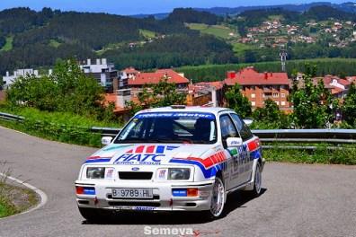 05 Marcos García se alzaba hasta la segunda posición del nacional y ganador del regional. Rallye de Asturias Histórico 2019