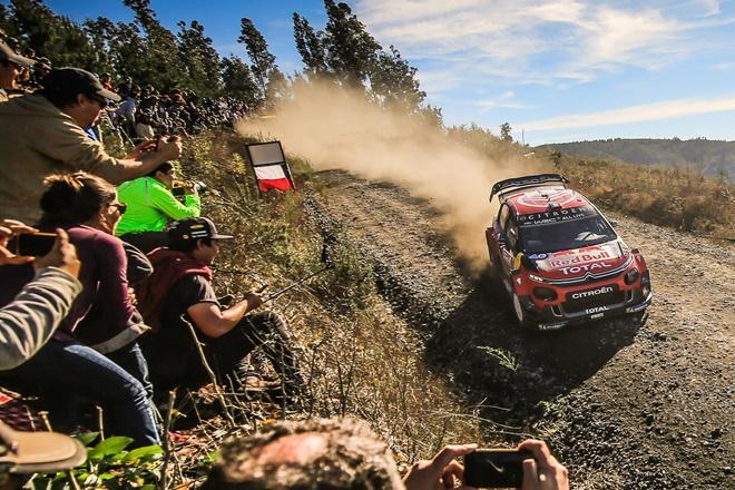 rallye chile Ogier Citroen C3 WRC etapa 2