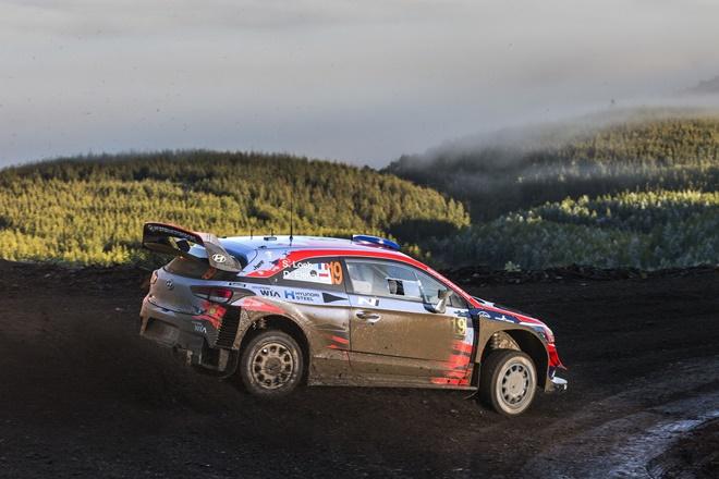 Loeb Rallye Chile Hyundai i20 WRC