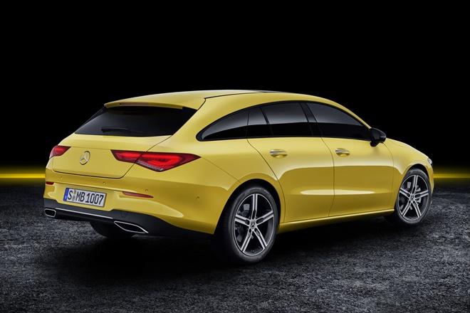 Mercedes-Benz CLA Shooting Brake Carrocería familiar Puertas: 4 + portón trasero - Plazas: 5 Generación 1. Actualización septiembre 2019