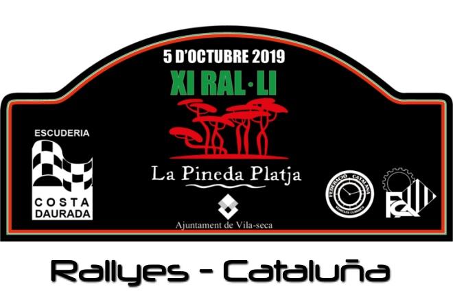 Rallye Pineda Playa placa 2019