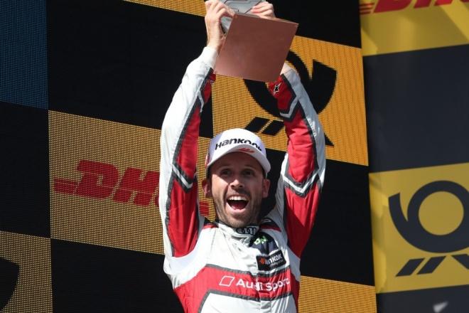 rast dtm audi podio campeon Nurburgring