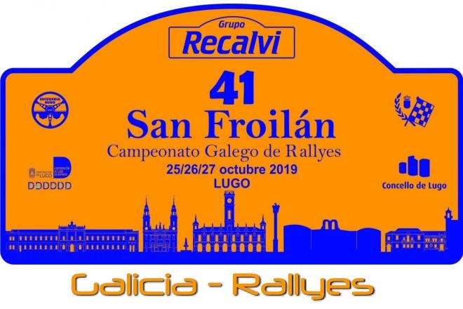 Rallye San Froilan 2019 placa