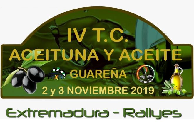 rallye aceituna 2019 placa
