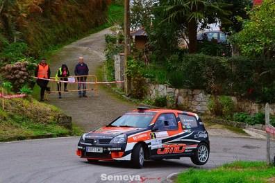 Jose Maria Martinez segundo clasificado Rallysprint Villa de Luarca 2019