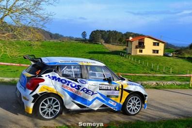 04 Pablo Rey cuarto ex aequo con Beteta II Rallysprint Cares Deva 2020