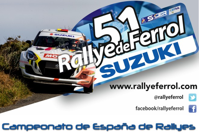 cartel previo rallye ferrol 2010