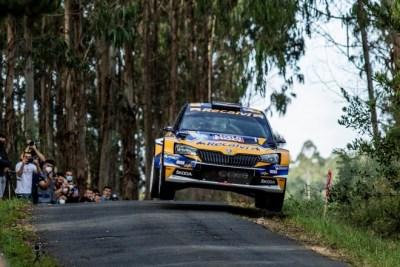 Cohete Suárez a por el nuevo Campeonato de España de Rallyes con Alberto Iglesias y Skoda