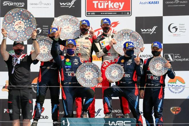 rallye turquia 2020 podio
