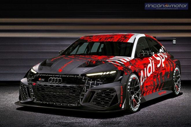 audi rs3 lms tcr 2021