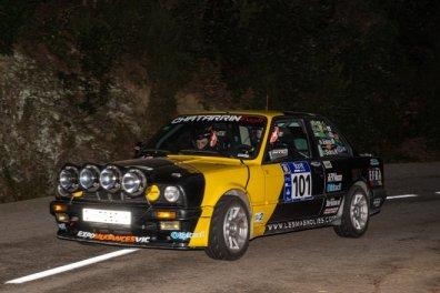 rallye lloret mar 21 moreno-mogueras BMW E30 320i
