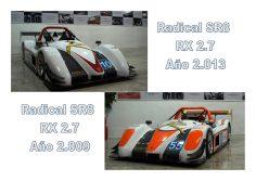 LOTE 2 RADICAL SR8 RX2.7 REMOLQUE 2.600 kg. MMTA