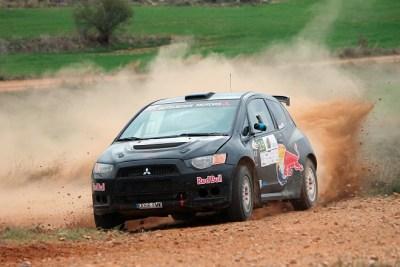 Serrat-Tort se llevan la victoria en el VI Tramo de Tierra del Jiloca a los mandos de un Mitsubishi Colt