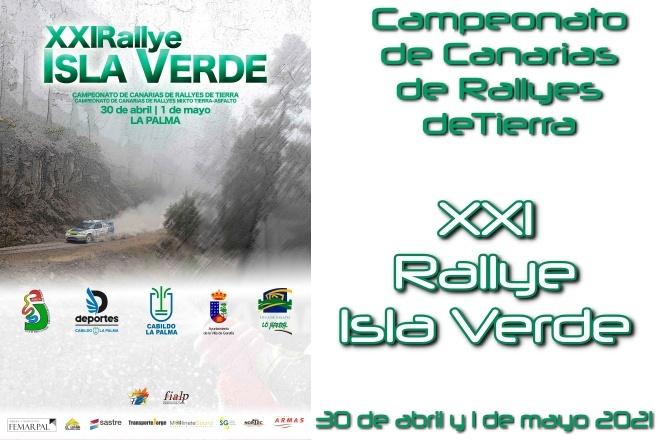 Rallye Isla Verde 21 cartela