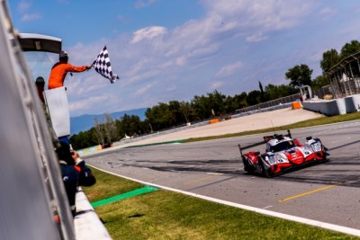 Victoria de Orlen Team WRT en su primera carrera en Barcelona