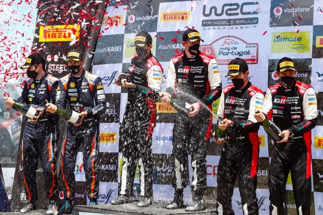 rallye portigal podio 2021