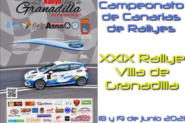 Rallye Granadilla cartela 21