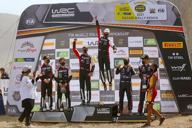 rallye safari 2021 podio wrc