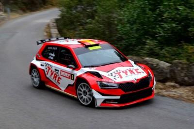 Marbán-Prieto dominadores de cabo a rabo en el Rallye de Ávila