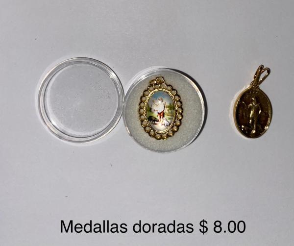 Medallas Doradas