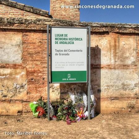 TAPIA DEL CEMENTERIO – LUGAR DE LA MEMORIA DEMOCRÁTICA