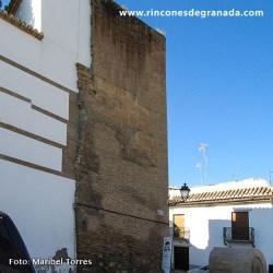 TORREÓN DE LA PUERTA DE BIBALBONUD Aquí se tremolaban los pendones de los nuevos sultanes de Granada