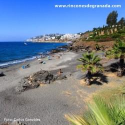 PLAYA DE CALABAJÍO Una de las playas más bonitas de Almuñécar