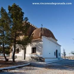 ERMITA VIRGEN DE LA CABEZA DE CÚLLAR Se encuentra adosada a la Torre del Alabí