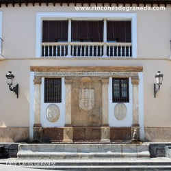 CAÑOS DORADOS – BAZA Construido junto a la Puerta del Peso o de La Puente.
