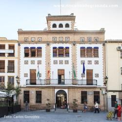 AYUNTAMIENTO DE SANTA FE De estilo neomudéjar y levantado en 1931