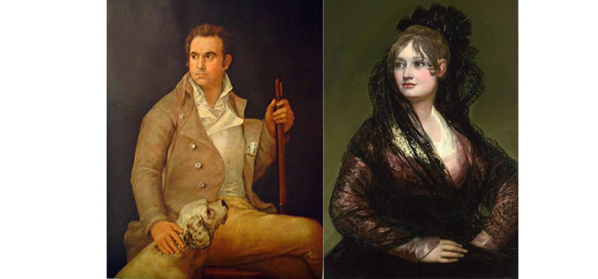 Antonio Porcel y Isabel Cobos Velasco