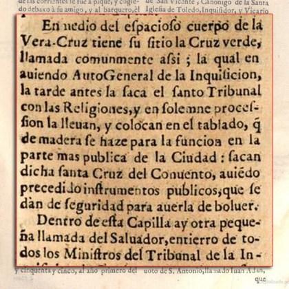 Cronicas de la inquisición - Granada- Agosto de 1555