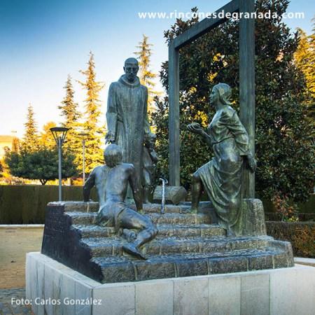 MONUMENTO A SAN JUAN DE DIOS - JARDINES DEL TRIUNFO