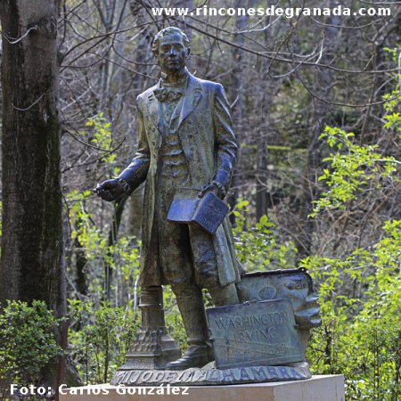 Monumento -- Washington Irving