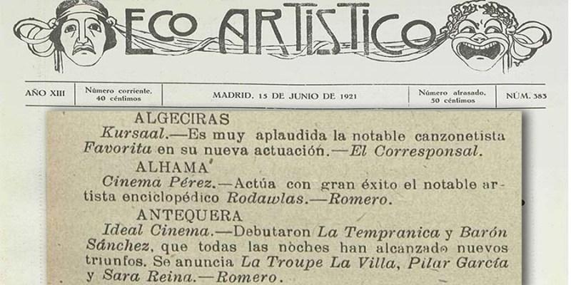 Eco Artístico - 1921