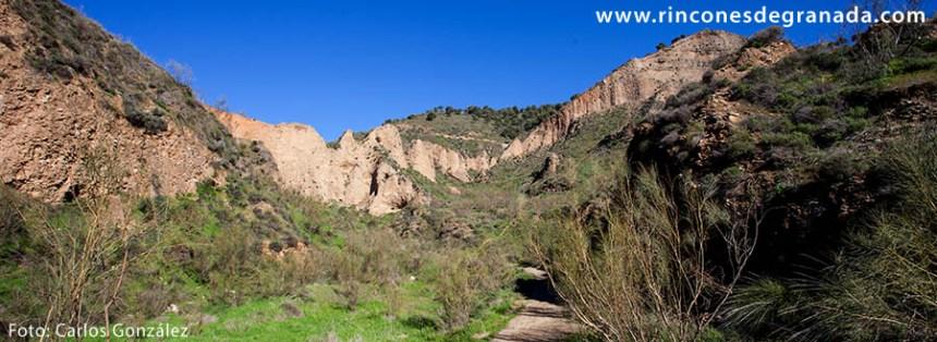 zona de desmontes o vaciados mineros- ruina montium