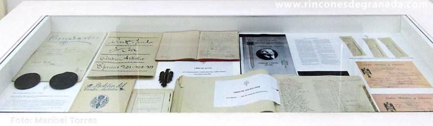 ACTAS - CENTRO ARTÍSTICO LITERARIO Y CIENTÍFICO DE GRANADA